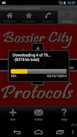 Screenshot of Bossier City Fire Department