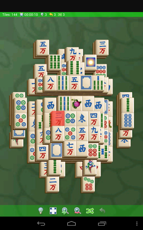 Mahjong Solitario - screenshot
