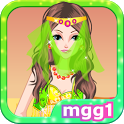 Cute Genie Girl Dress Up icon