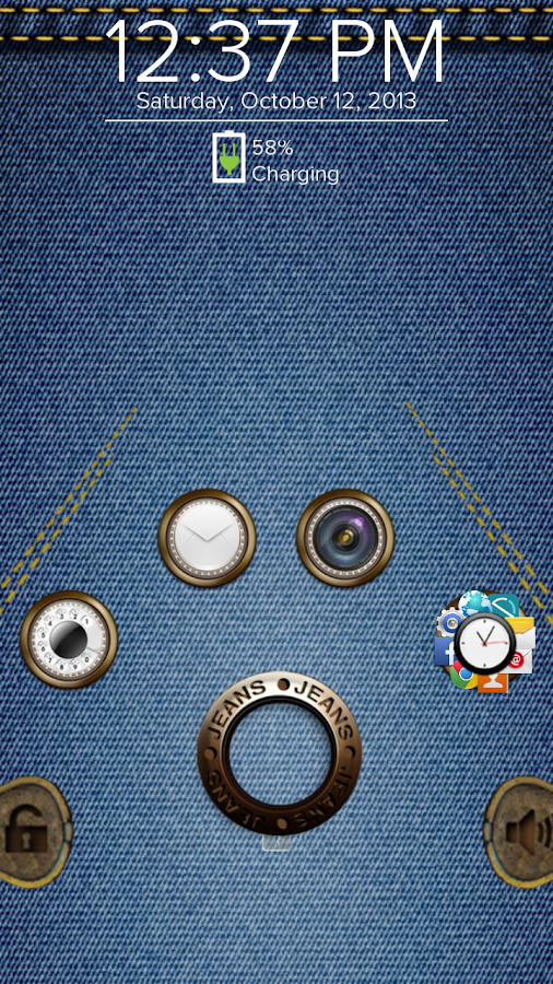 Jeans - Start Theme - screenshot