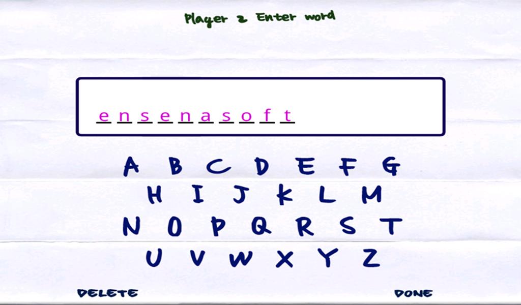 Doodle Hangman HD Free - screenshot
