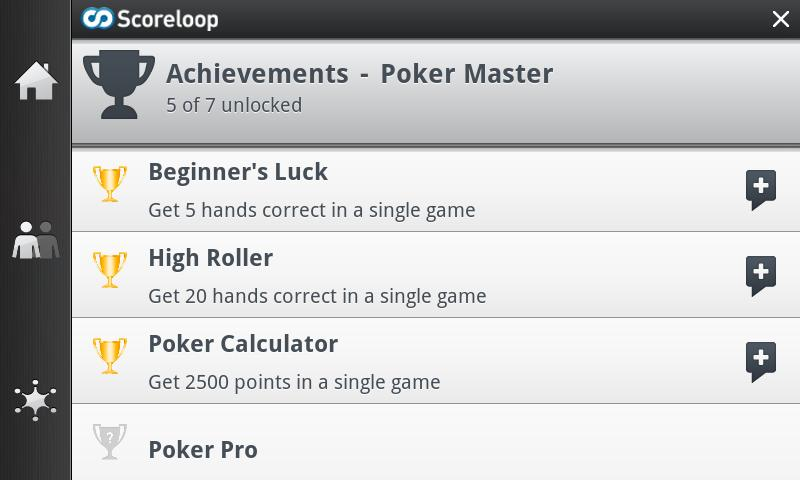 Poker Master (Poker Game)- screenshot