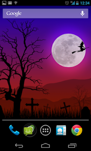 Halloween live wallpaper lite- screenshot thumbnail