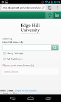Screenshot of Edge Hill Central