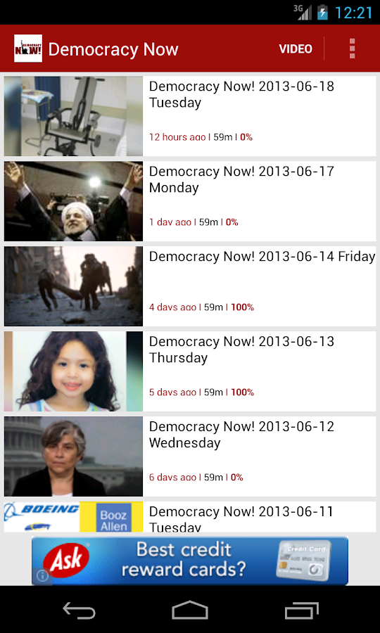 Democracy Now! - screenshot