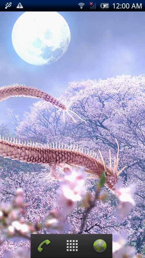 Sakura Dragon Moon Free - screenshot