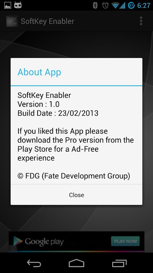 SoftKey Enabler- screenshot