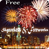 Skyrocket & Fireworks Live Wallpaper