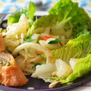 Spicy Fennel and Pomelo Salad
