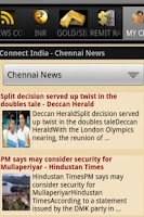 Screenshot of Connect India (INR,Gold& News)