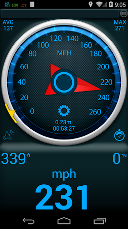 Gps Speedometer 1.3.2 screenshot 378902
