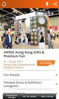 Screenshot of HKTDC Mobile