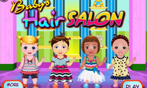 Baby kids salon – Haircutting