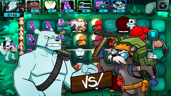 BEARS vs ZOMBIES - TD Defense- screenshot thumbnail