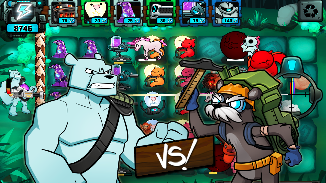 BEARS vs ZOMBIES - TD Defense- screenshot