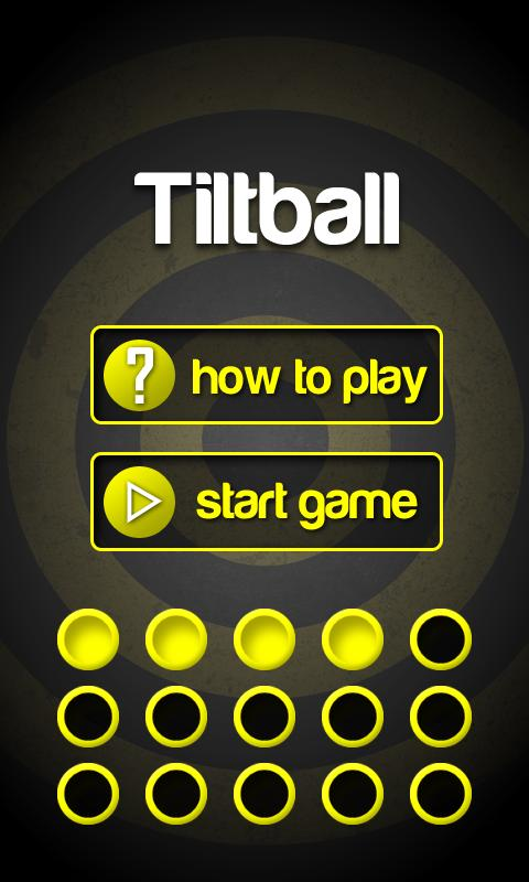 Tiltball- screenshot