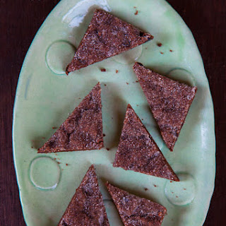 Chocolate Shortbread Cookies, Aztec Style
