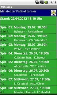 Minstedter Fußballturnier- screenshot thumbnail
