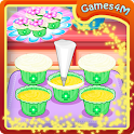Easter Cupcakes Cooking Games icon