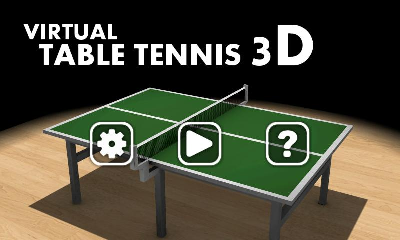 Virtual Table Tennis 3D - screenshot