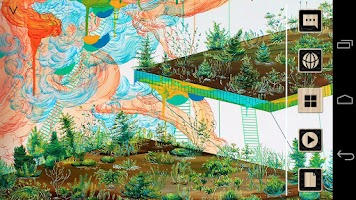 Screenshot of Floating Garden_Painting Atom