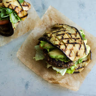 Black Bean and Red Pepper Burgers.