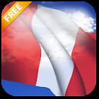 3D Peru Flag Live Wallpaper icon
