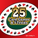 25 Card Games & 5 Tricks book