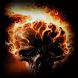 Skull Flames Live Wallpaper
