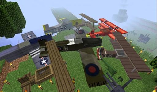 Airplane Mods Minecraft Pe Mc
