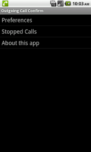 Hands-Free Call Confirm - screenshot thumbnail