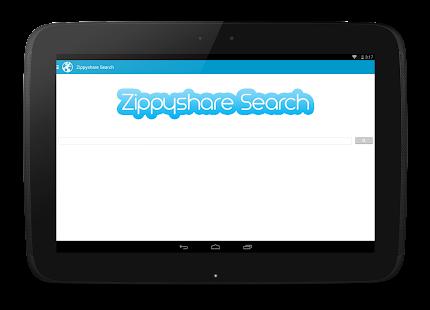 Zippyshare Simple Search - screenshot thumbnail