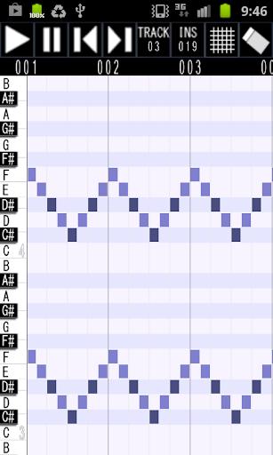 Palmidi Lite MIDI Sequencer