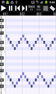 Palmidi Lite (MIDI Sequencer) - screenshot thumbnail