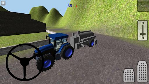 拖拉机仿真3D:泥浆