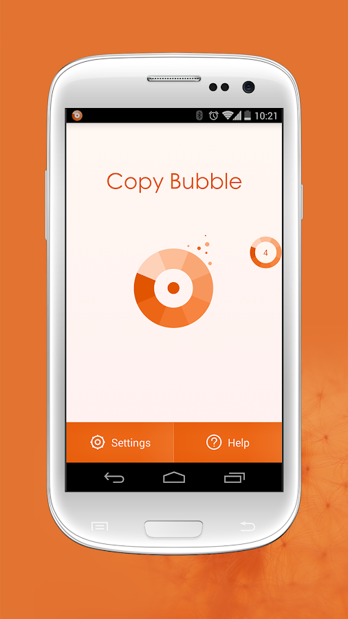 Copy Bubble - screenshot