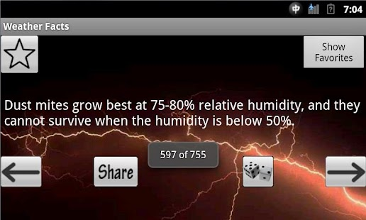 Weather Facts - screenshot thumbnail