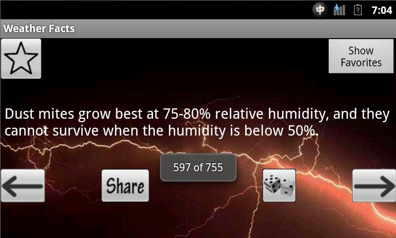 Weather Facts - screenshot