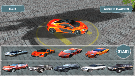 SUV vs Super Car 3D Race Sim+