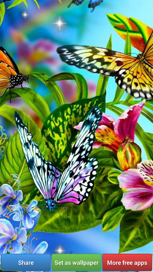 Butterflies HD Wallpapers - screenshot