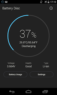 Beautiful Battery Disc- screenshot thumbnail