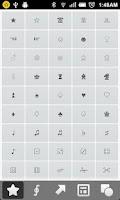 Screenshot of Symbols