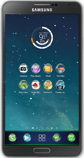 Glass 3D Icon Pack Theme