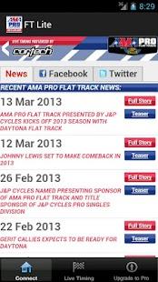 AMA Pro Flat Track Lite - screenshot thumbnail