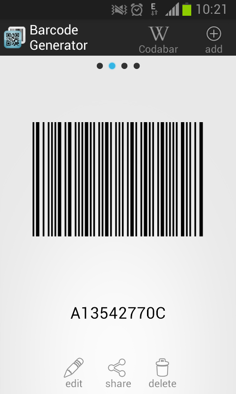 Dxl in store coupons barcode