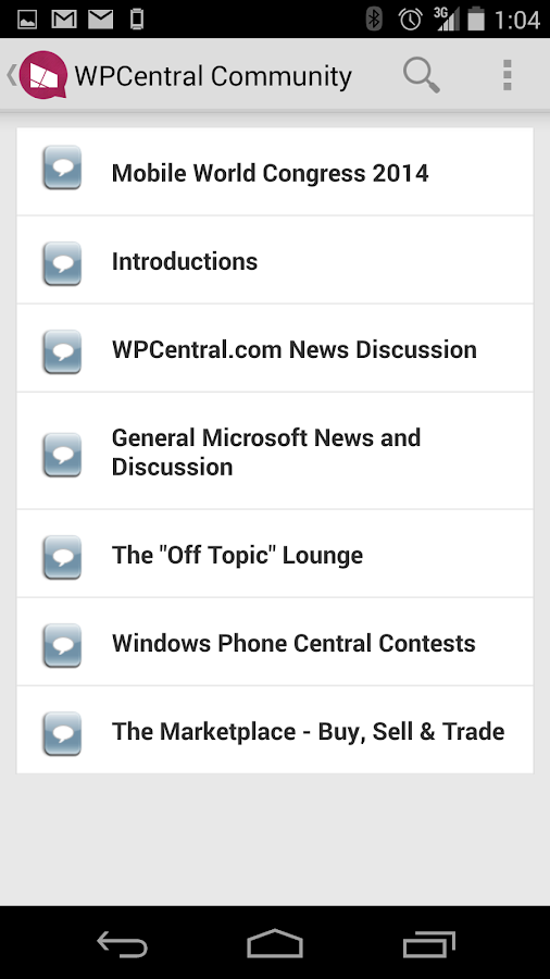 WPCentral Forums - screenshot