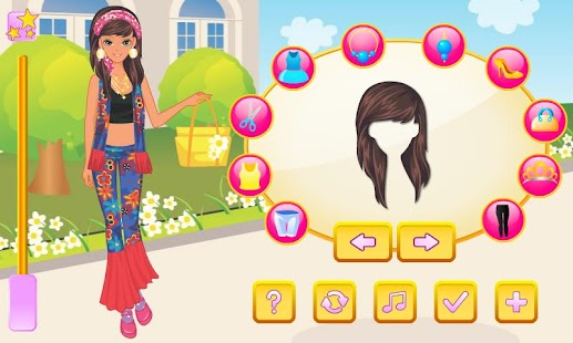 Flower Power Dress Up - screenshot thumbnail