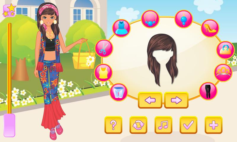 Flower Power Dress Up - screenshot