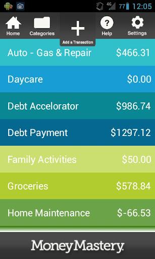 Money Mastery Spending Tracker