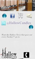 Screenshot of Hallow Candle Co.